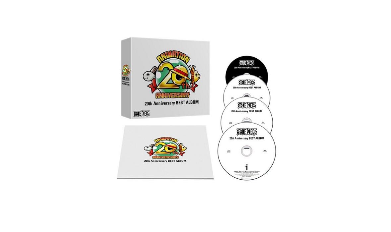 7961b8defd2 ONE PIECE 20th Anniversary BEST ALBUM [OST] - Anime OST   Daisuki Hime