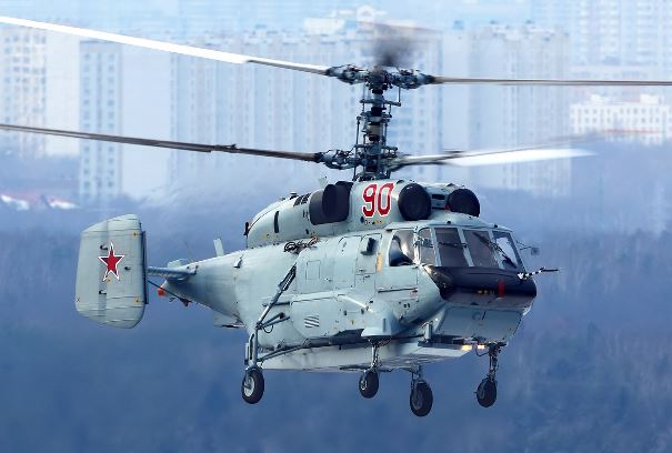 Kamov Ka-31 Helix AEW helicopter