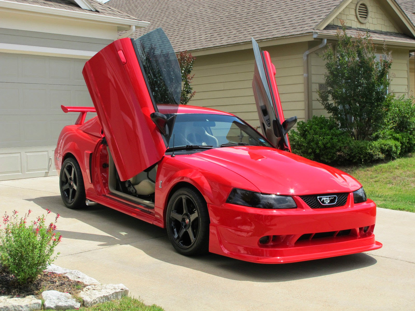 2004 Ford Mustang Gt Custom Super Charger For Sale American Muscle 1980 Interior Cars
