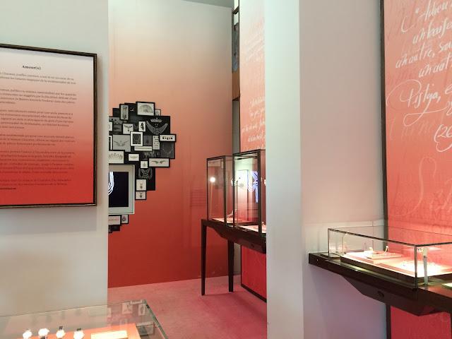 """Chaumet Musée Ephémère, Paris, """"Une Education Sentimentale"""""""