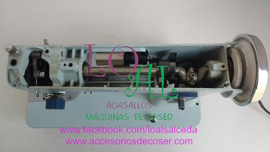 mecanismos maquina de coser sigma 140