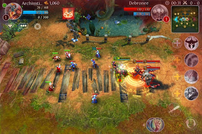 Heroes Of Order & Chaos v3.4.0h MOD APK+DATA