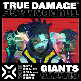 but this is my time better look in my eyes Soyeon, Becky G, Keke Palmer, DUCKWRTH, Thutmose, True Damage, League of Legends - GIANTS Lyrics
