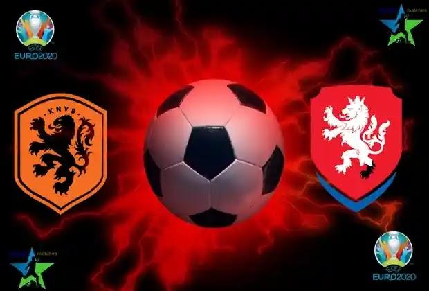 مباراة هولندا والتشيك اليوم في يورو 2020