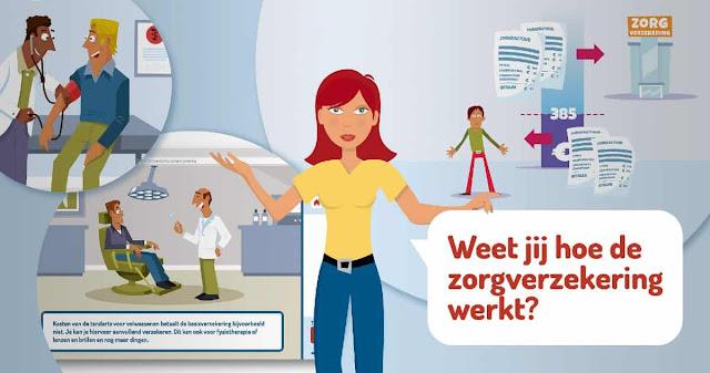"""الرعاية الصحية في هولندا .. أنواع التأمين الصحي وبدل الرعاية """"زورخ توسلاخ"""""""