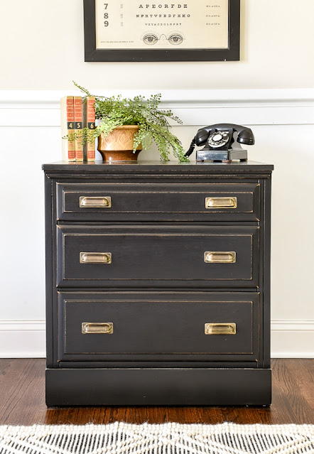 Dresser turned vintage-inspired chest