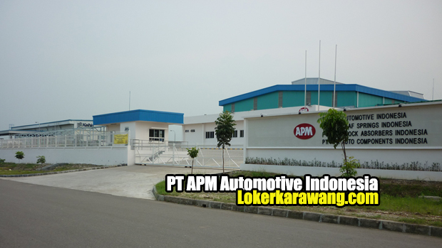 Lowongan Kerja PT. APM Automotive Karawang