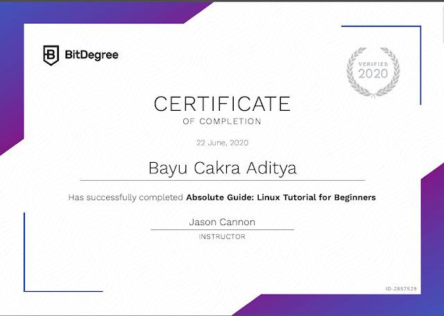 Tempat E-Sertifikat Programming Gratis