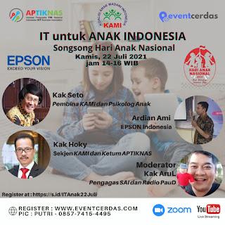Webinar IT untuk Anak Indonesia - 22 Juli 2021