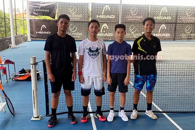 Tumbangkan Unggulan 1 dan 2, Ingvar Rusli /Putra Suyadi Jawara di Bali