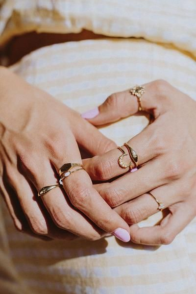 Rings that make a fashion statement