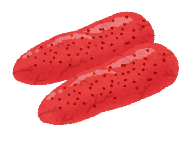 イラスト 魚 イラスト 無料素材 : 明太子のイラスト | かわいい ...