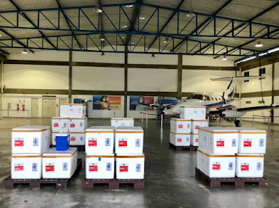 Bahia recebe nova remessa de vacinas contra Covid-19