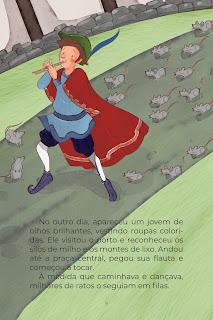 História O Flautista de Hamelin (Conta Pra Mim); Imprimir PDF Grátis