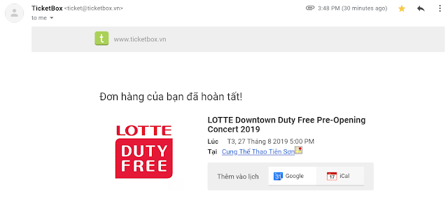 LOTTE Downtown Duty Free Pre-Opening Concert 2019