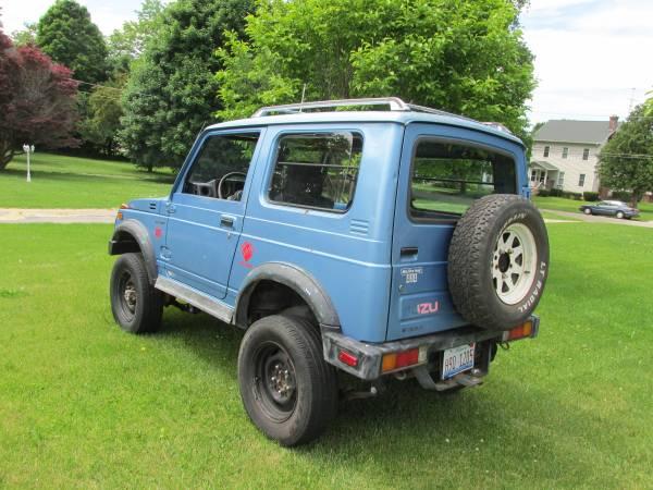 Craigslist Old Cars For Sale >> Diesel 4x4, 1986 Suzuki Samurai Tin Top - 4x4 Cars