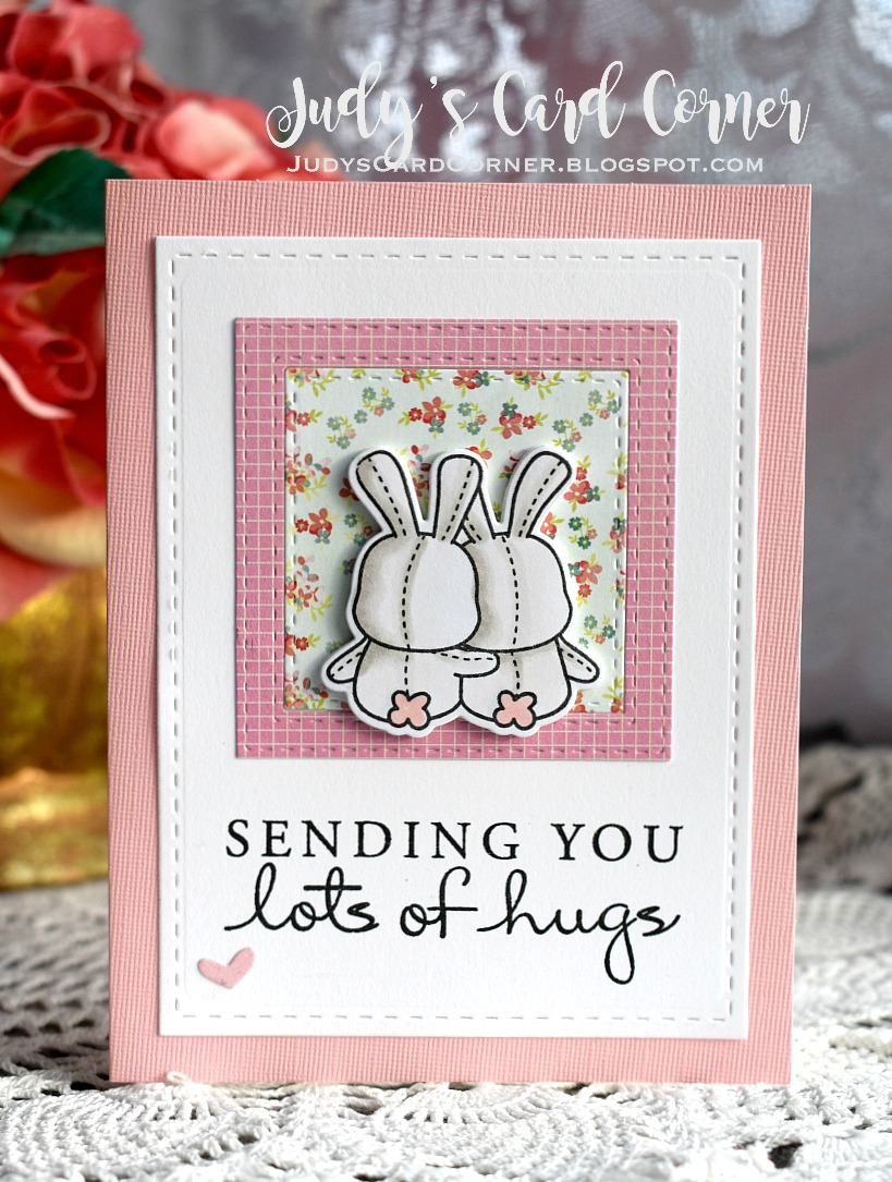 Judys Card Corner Sending You Lots Of Hugs