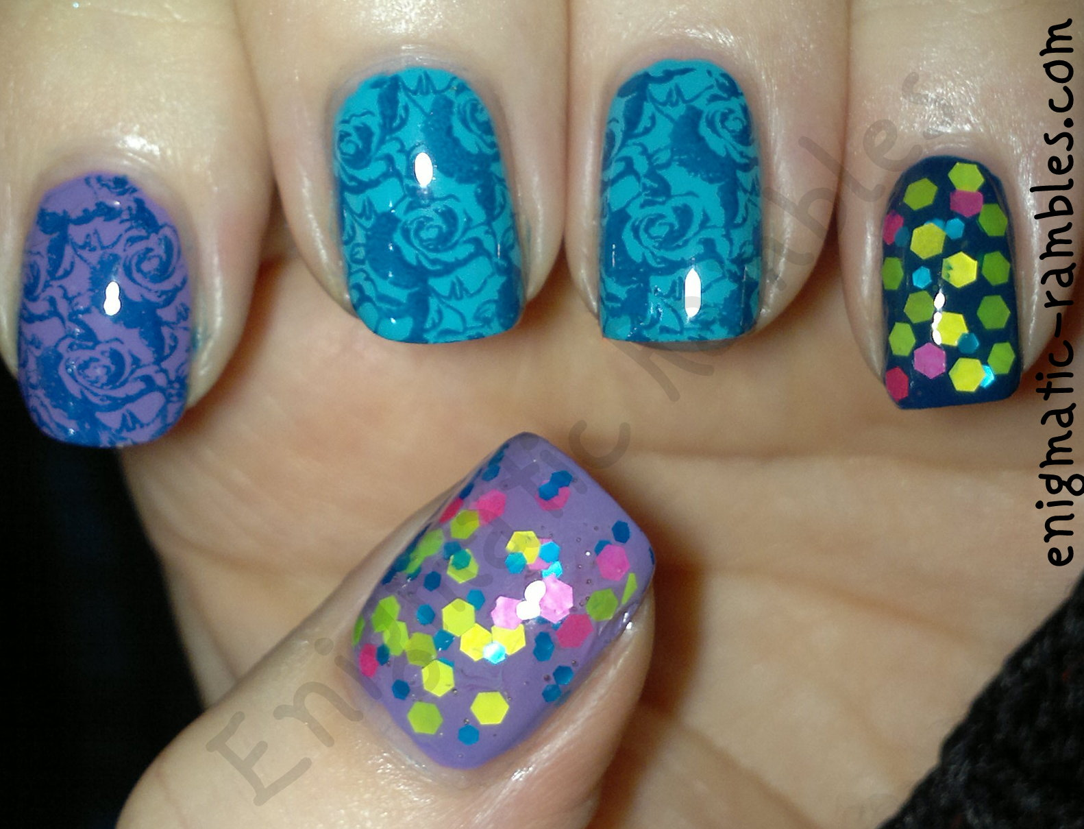 sinful-colors-verbena-barry-m-gelly-blackberry-blue-plum-guava-bundle-monster-H16