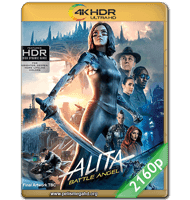BATTLE ANGEL: LA ÚLTIMA GUERRERA (2019) 2160P HDR MKV ESPAÑOL LATINO