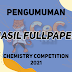 PENGUMUMAN HASIL FULLPAPER CeC 2021