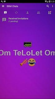 BBM MOD Om Telolet Om Tema Alan Walker v3.2.0.6 APK