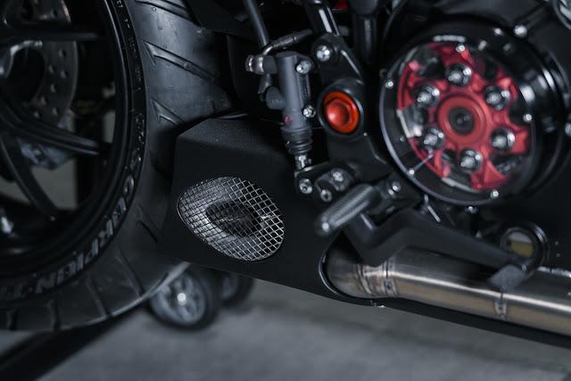 Ducati Multistrada By North East Custom Hell Kustom