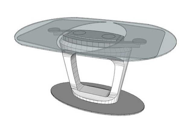 Modelli 3d sketchup modelli 3d sketchup with modelli 3d for Tavolo orbital calligaris offerte