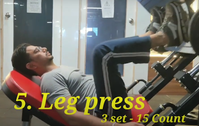 Leg press For Cricketers