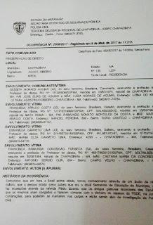 Chapadinha: ex-gestoras escolares registram TCO contra Danúbia Carneiro