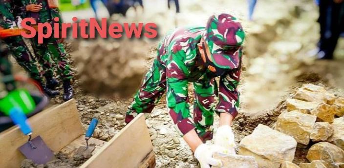 Pangdam Hasanuddin, Pasang Batu Pertama Pembangunan Panti Asuhan Sayang NKRI di Kolaka Utara