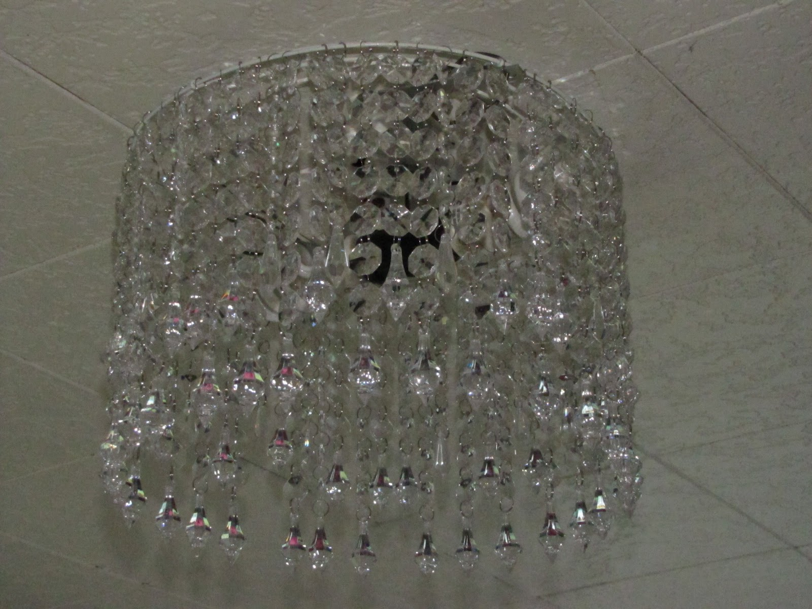 If Itu0026#39;s Not Baroque...: Crystal Chandelier {How to make it}