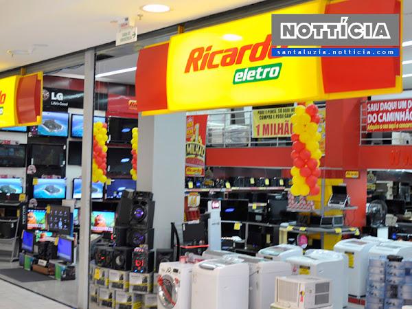 Ricardo Eletro abre 16 vagas de emprego para Santa Luzia