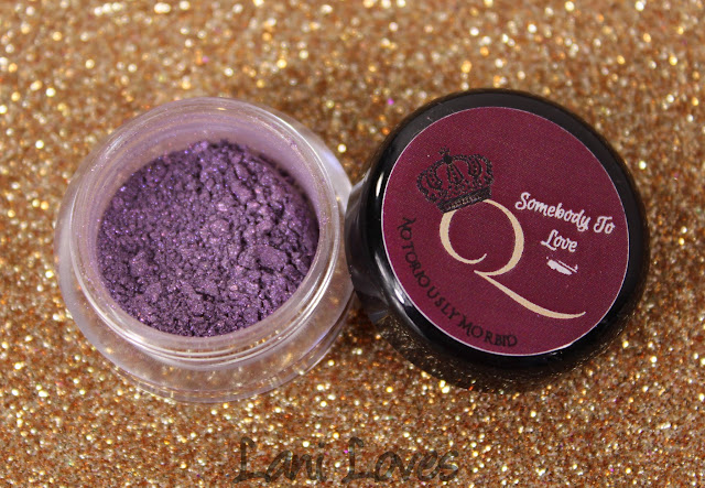 Notoriously Morbid Naughty Nanny Eyeshadow Swatches & Review