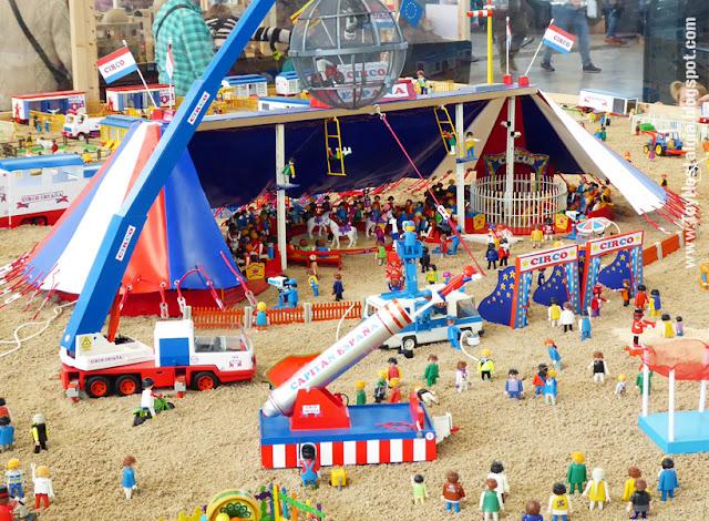 Diorama Playmobil Circus  (Fira Sabadell - 2019)