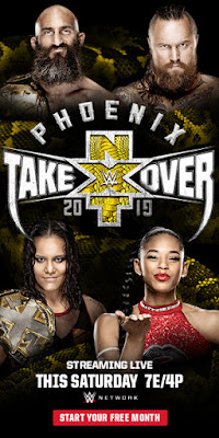 NXT TakeOver Phoenix 2019 Custom HD Latino
