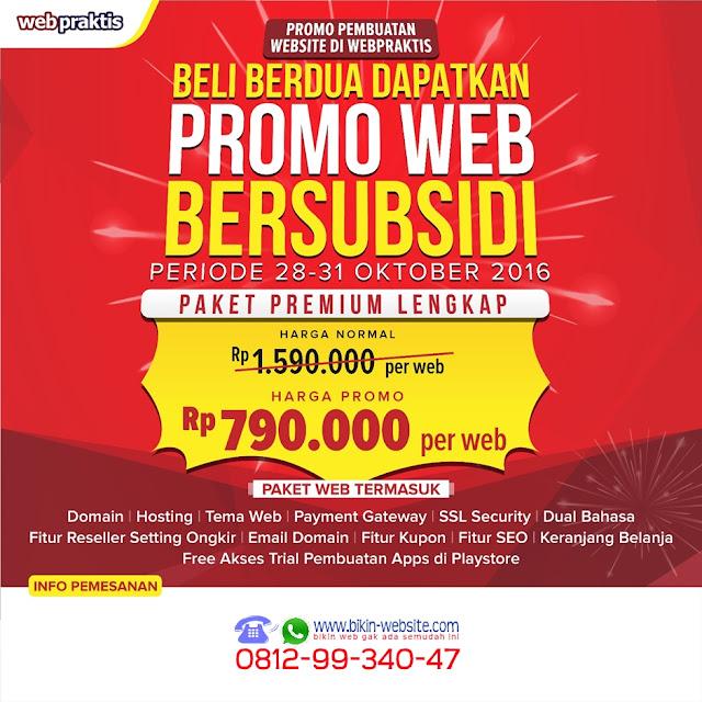BIKIN WEBSITE .COM & TOKO ONLINE BERSUBSIDI - POSTER 1