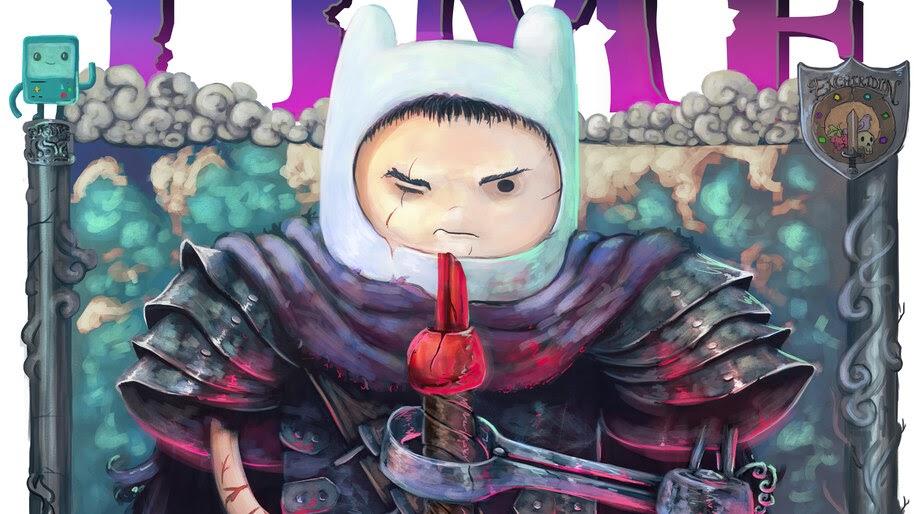 Finn, Adventure Time, Berserk, Anime, Art, 4K, #6.2512 Wallpaper