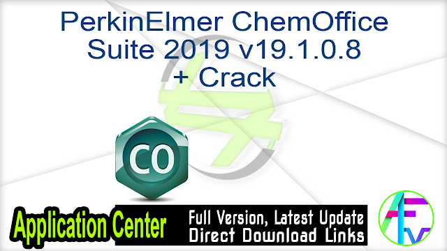 PerkinElmer ChemOffice Suite 2019 v19.1.0.8 + Crack