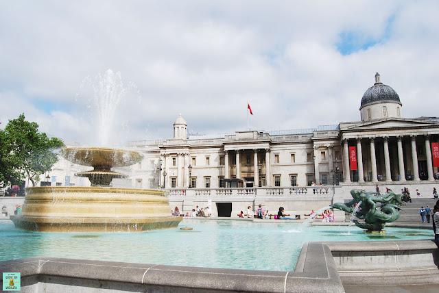 Trafalgar Square en el West End de Londres