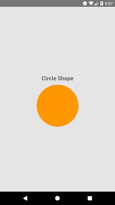 React Native Create Custom Circle Shape View