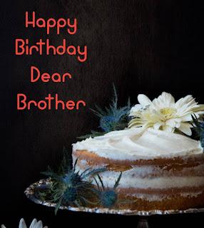 Happy Birthday to Brother status