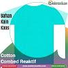 Jual Bahan Kaos Bagus Cotton Combed 30 Tasikmalaya Harga Plus Rib