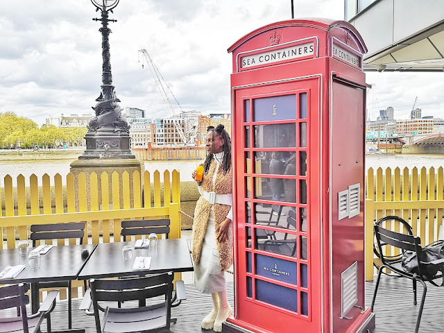 Outdoor dining london
