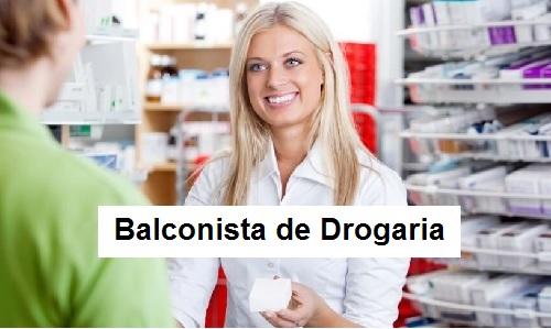 Atendente de Drogaria