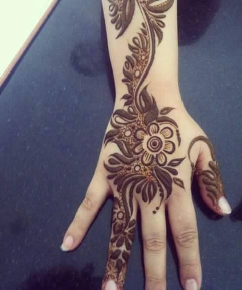 Mehandi Design for Hands 18