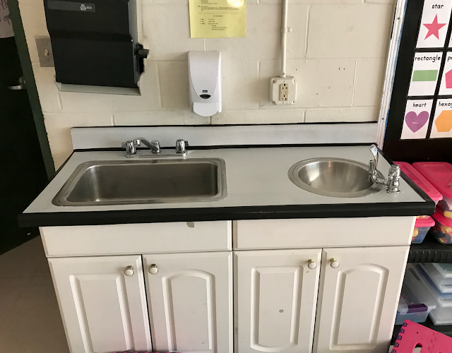 classroom sink