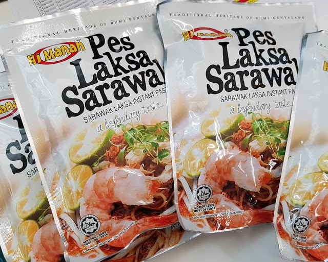 Laksa Sarawak Dengan Pes Hj. Manan