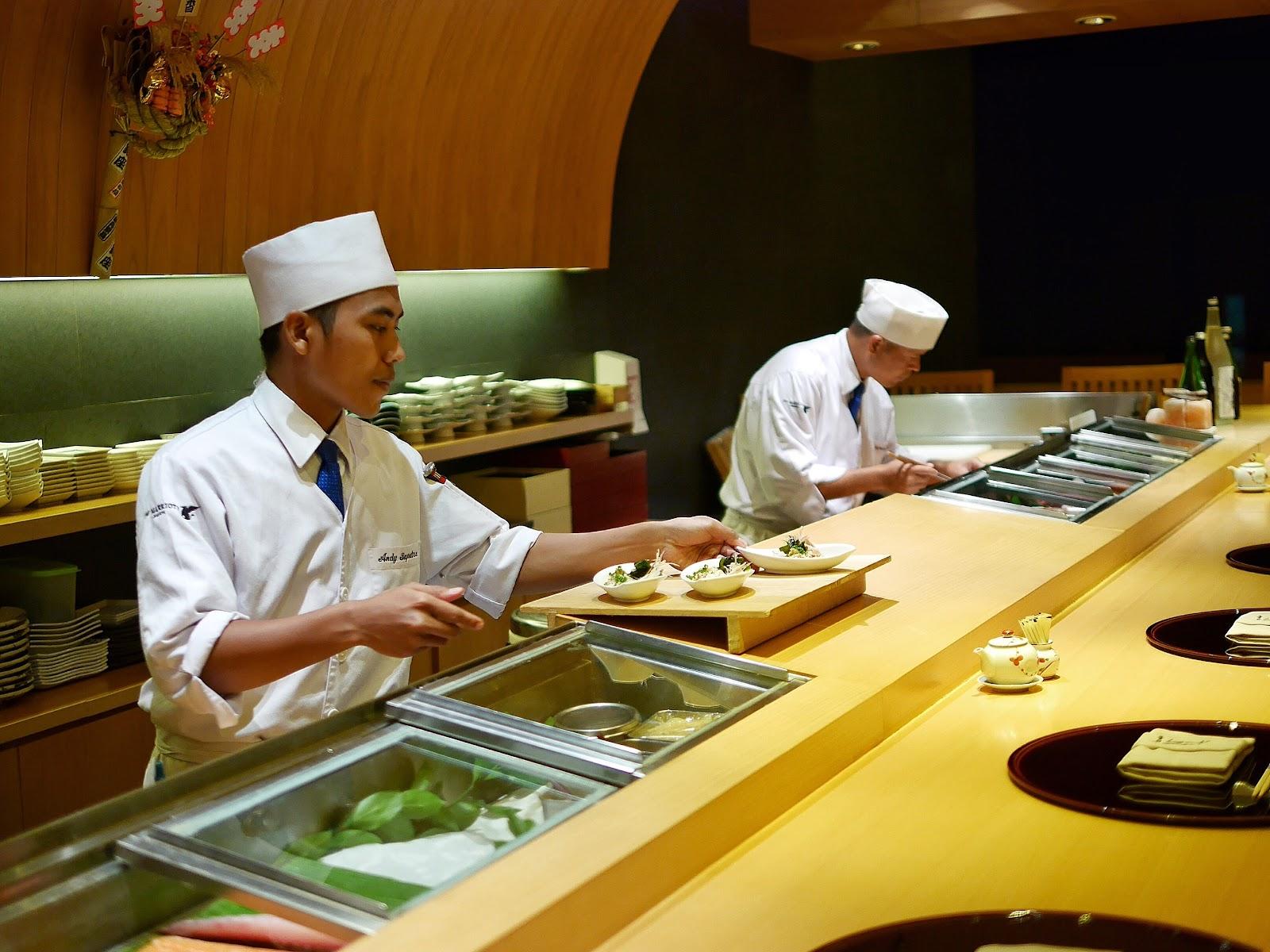 Asuka jw marriott jakarta japanese fine dining for Asuka japanese cuisine menu