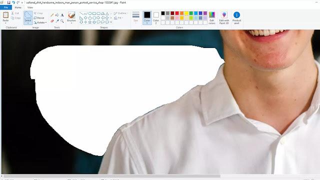 delete latar belakang foto