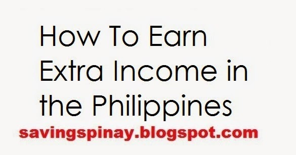 how to earn extra income from home in the philippines